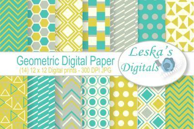 Geometric Digital Patterns