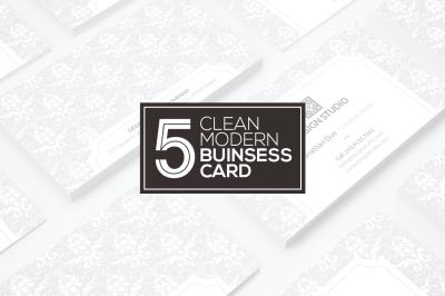 5 Business Card Bundle