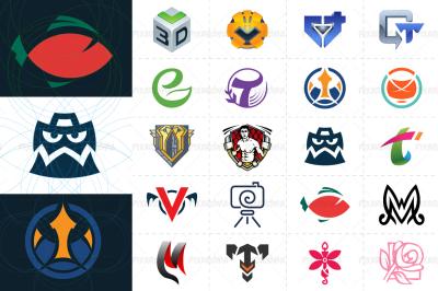 20 Vector Symbols and Logos - Set