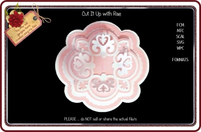 497 Doily or Topper Multiple MACHINE Formats