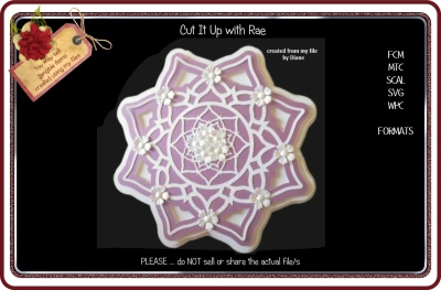 505 Doily or Topper Multiple MACHINE Formats