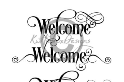 Welcome Sign Bundle