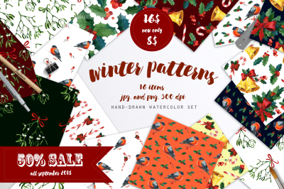 Winter patterns set