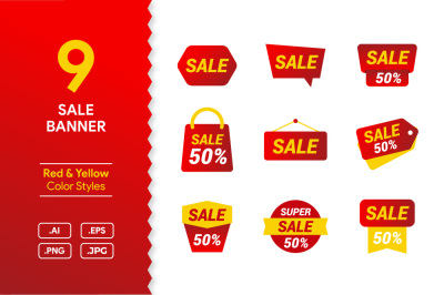 Sale Banner Pack