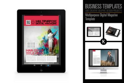 Multipurpose Digital Magazine Template