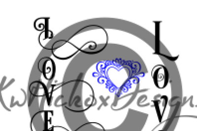 Hope, Dream, Love, Believe Vertical Sign Bundle Svg, Eps, Dxf Files