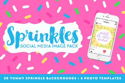 Sprinkles Social Media Image Pack
