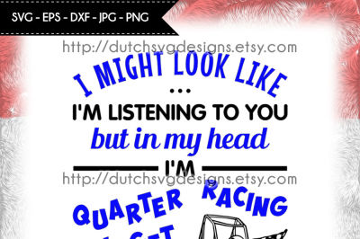 Text cutting file Quarter Midget Racing, in Jpg Png SVG EPS DXF, for Cricut & Silhouette, quarter midget svg, racing svg, cricut svg files
