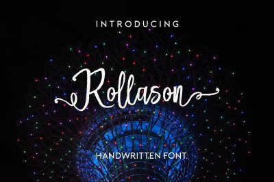 Rollason Font