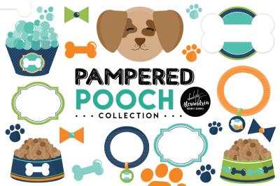 Pampered Pooch Graphics & Patterns Bundle