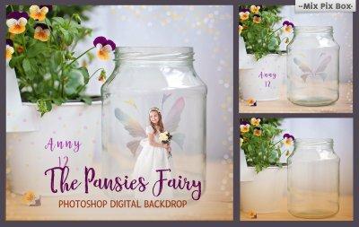 Pansies Fairy