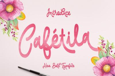 Cafétila Typeface
