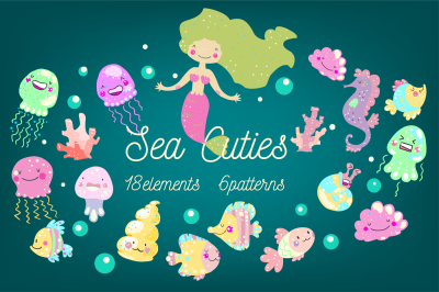 Sea Cuties set