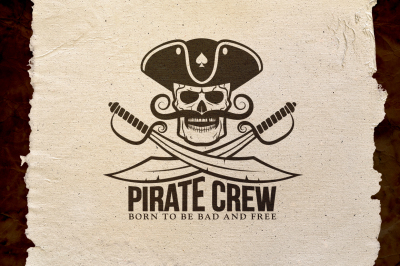 Pirate Crew Logo