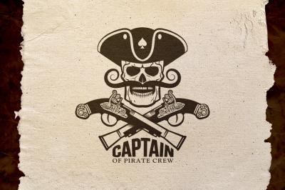 Pirate Captain Logo