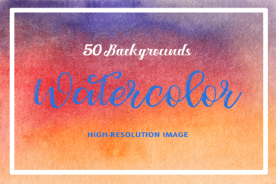 50 Watercolor Backgrounds 04