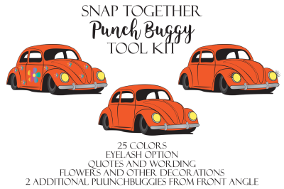 Snap Together PUNCHBUGGY Toolkit