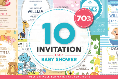 10 Baby Shower Invitations
