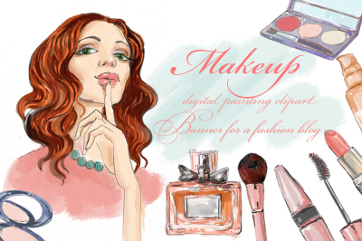 cosmetics and fashion girl