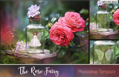 Rose Fairy Backdrop