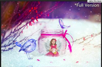 Berberis Fairy Backdrop