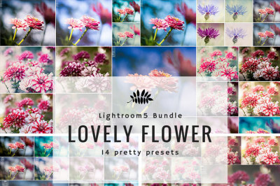 14 Pretty Flower Preset Bundle