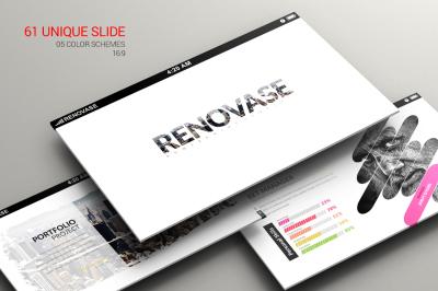 Renovase Powerpoint Template
