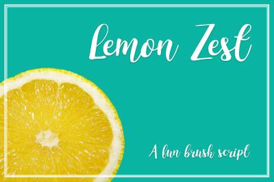 Lemon Zest Script