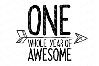 One Whole Year Of Awesome SVG Cutting File