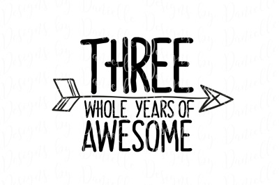 Three Whole Years Of Awesome SVG Cutting File