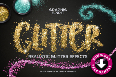 Realistic Glitter Effect TOOLKIT