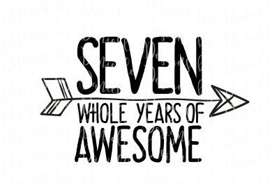 Seven Whole Years Of Awesome SVG Cutting File