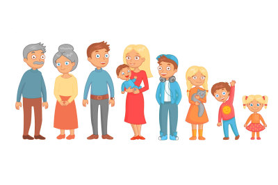 Vector Family Characters