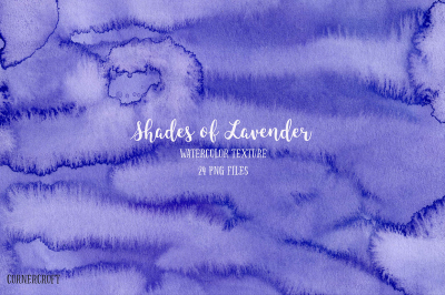 Watercolor Texture Shades of Lavender