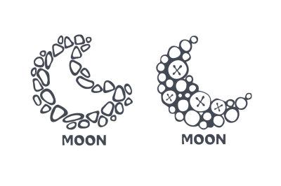 Vector moons