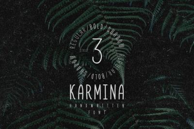 Karmina Handwritten Font