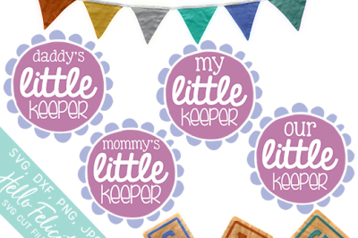 Baby Little Keeper SVG Cutting Files