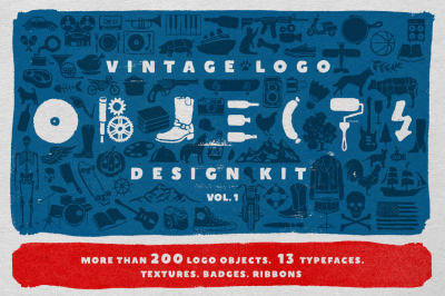 Vintage Logo Objects