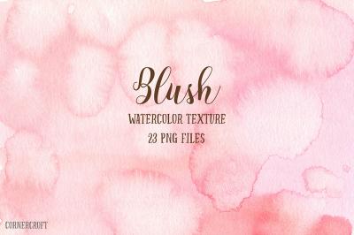 Watercolor Texture Blush