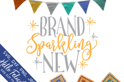 Baby Brand Sparkling New SVG Cutting Files