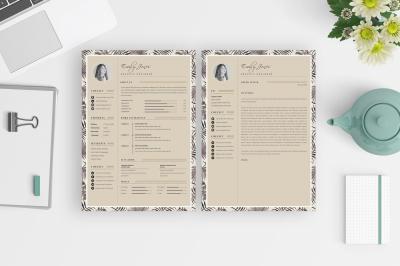 Professional & Modern CV Resume PortfoilioTemplate /C