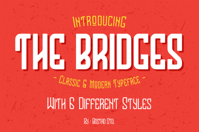 The Bridges Typeface