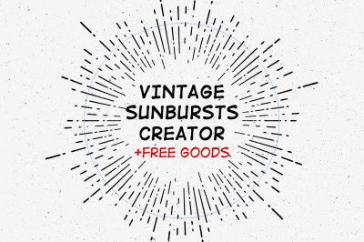 Vintage Sunbursts Creator