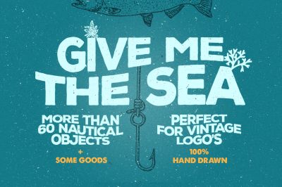 Give Me The Nautical Hand Drawn Pack