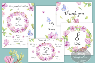 'Magic of Magnolia' Wedding Pack