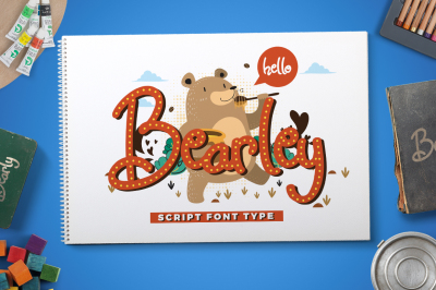 Bearley Typeface