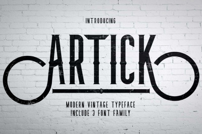 Artick Typeface