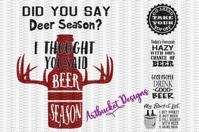 Beer Design Bundle #1
