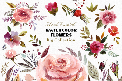 Big Watercolor Bundle