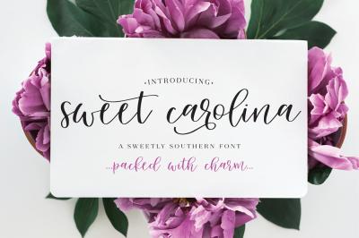 Sweet Carolina Script Font